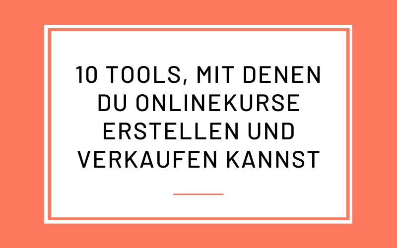 10 Onlinekurs Tools